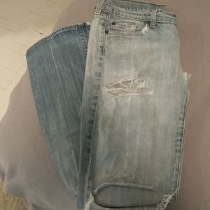 7 for all man kind Distressed jean